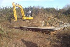 Etape 3 : Recouvrir le tout de terre végétale